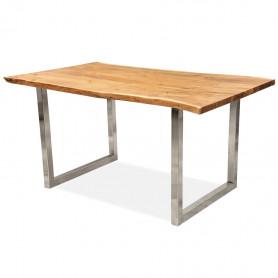 Стол из массива, ДЖИВАН life silver, 1.5 метра