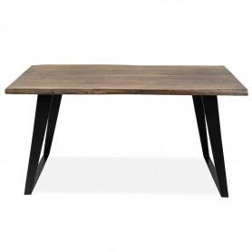 Письменный стол в стиле лофт ДЖИВАН sigar black