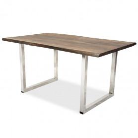 Письменный стол в стиле лофт ДЖИВАН sigar silver