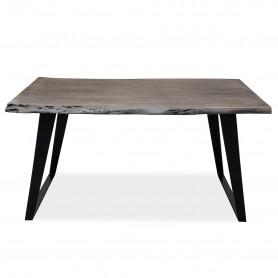 Письменный стол в стиле loft ДЖИВАН platinum black (brs-032/035)