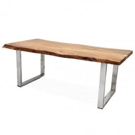 Письменный стол в стиле loft ДЖИВАН life silver